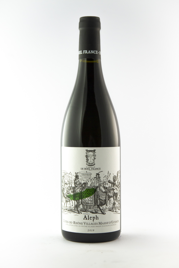 CDR Villages -  Massif d'uchaux de boel france Aleph 2019 75 cl Rouge