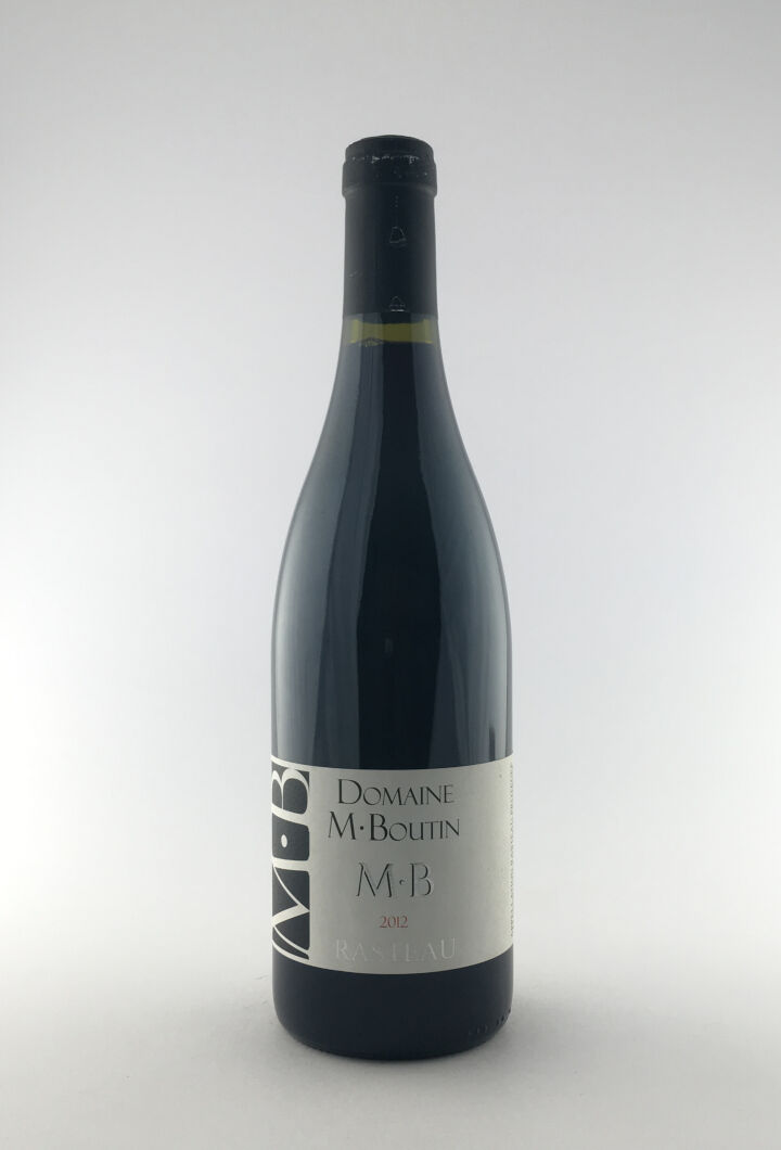 CDR Villages - Rasteau Mikael Boutin 2012 75 cl Rouge